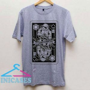 Stormtrooper Playing Card T Shirt