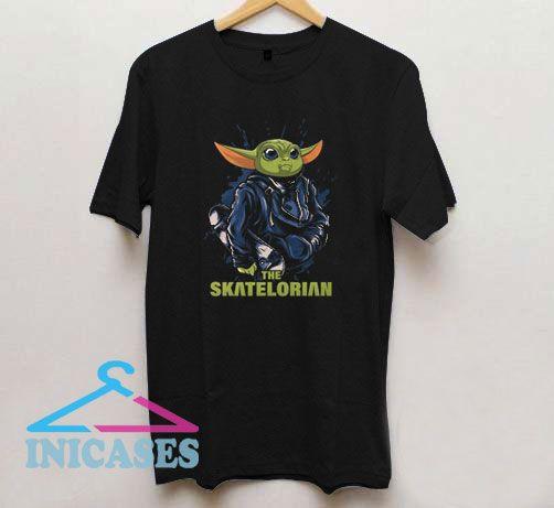 The Skatelorian Baby Yoda T Shirt