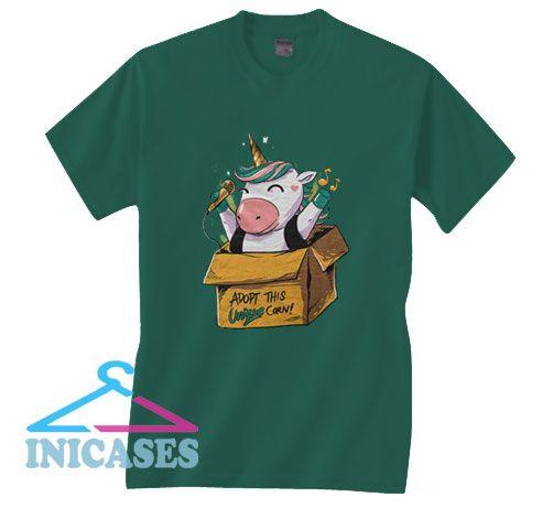 Unicorn Graphic T Shirt