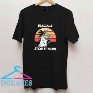 Yoda Seagulls Stop It Now Star Wars T Shirt