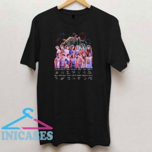 Awesome Stranger Things All Character T Shirt