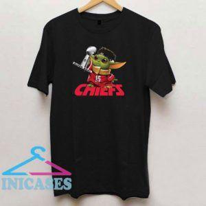 Baby Yoda Kansas City Chiefs Super Bowl T Shirt
