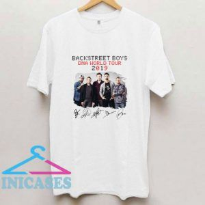 Backstreet Boys Dna World Tour 2019 T Shirt