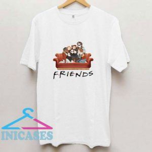 Characters Friends Stranger Things T Shirt