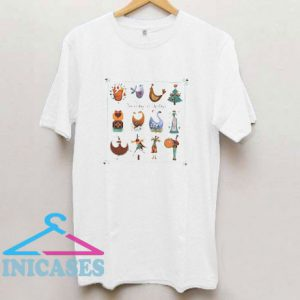 Christmas Carol Singing Xmas Gift Idea T Shirt