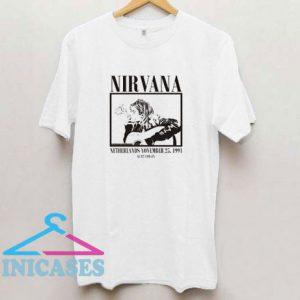 Kurt Cobain Grunge Nirvana T Shirt