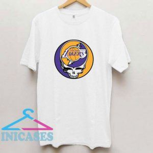 Los Angeles Lakers Steal Your Face Stealie T Shirt