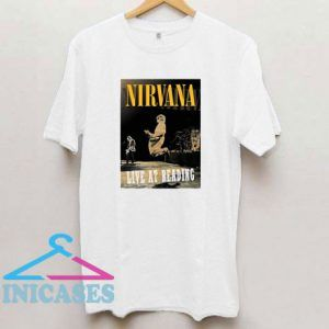 Nirvana Live At Ready T Shirt