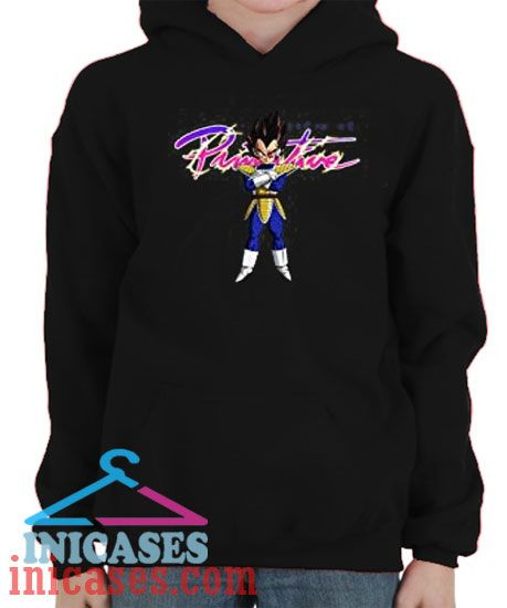 Primitive Dragon Ball Z Nuevo Vegeta Hoodie pullover