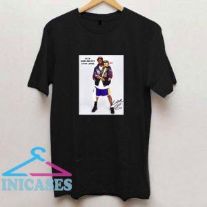 RIP Kobe Bryant X5 Signature T Shirt
