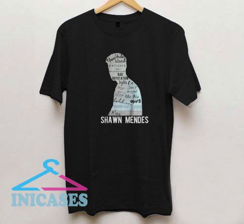 Shawn Mendes Graphic T Shirt
