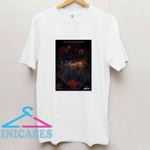 Stranger Things 3 Poster Graphic T Shirt