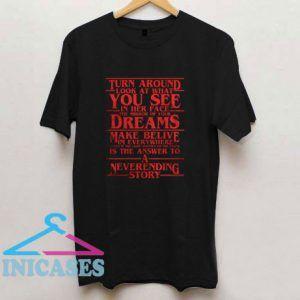 Stranger Things A Neverending Story T Shirt