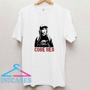 Stranger Things Dustin Code Red Exclusive T Shirt