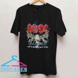Acdc Funny Graphic T Shirt