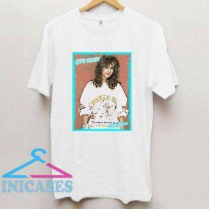 Alyssa Milano 80s Crush Aesthetic T Shirt