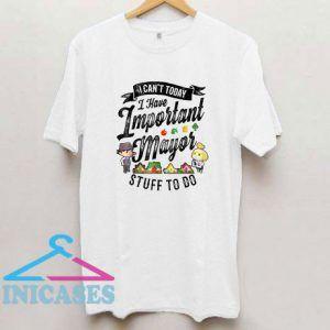 Animal Crossing Important Mayor Stuff Graphic T Shirt
