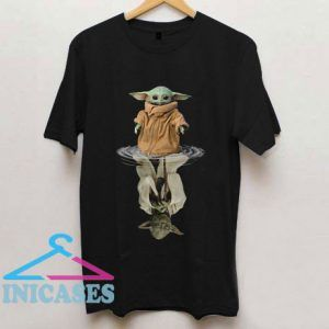 Baby Yoda In The Water Is Old Yoda T Shirt