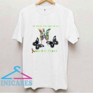 Born Set Apart Autism Awareness Butterfly T Shirt