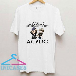Brian Johnson And Angus Young Easily T Shirt