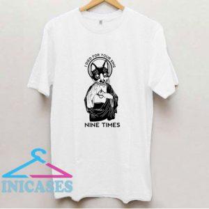 Cat Nine Times T Shirt