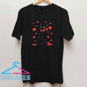 Cat Valentines Love T Shirt