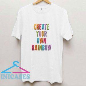 Create Your Own Rainbow T Shirt