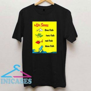 Dr Seuss One Fish Two Fish Book Cover T Shirt