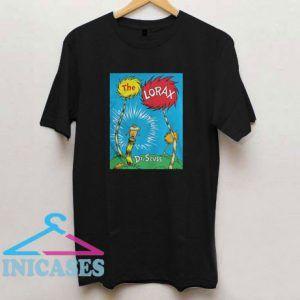 Dr Seuss The Lorax Book T Shirt
