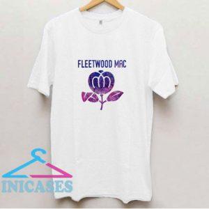 Flower Fleetwood Mac T Shirt