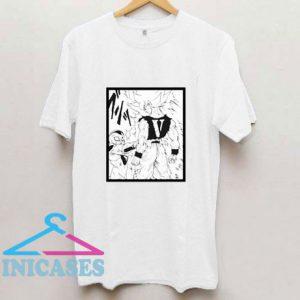 Goku Vs Frieza Vlone T Shirt