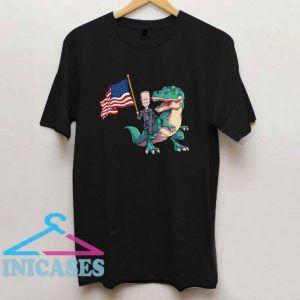 Joe Biden Shirt 2020 Election Biden Riding Trex T Shirt