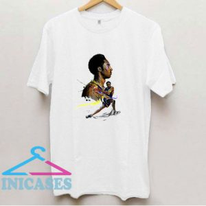 Kobe Bryant Basketball Art T Shirt