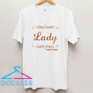 Lady Kenny Rogers T Shirt