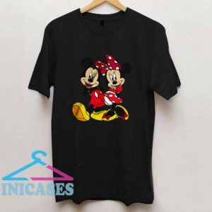 Mickey Mouse And Minnie Mouse T Shirt