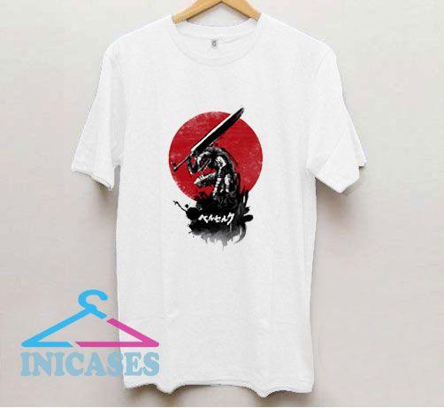 Red Sun Swordsman T Shirt