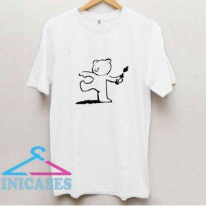 Teddy Bear Banksy T Shirt