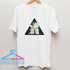 Tiny Rick Morty Color T Shirt