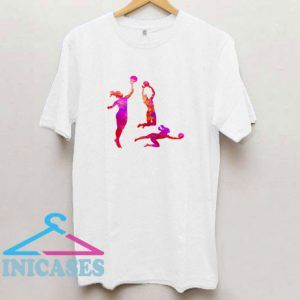 Volleyball Graphic T Shirt