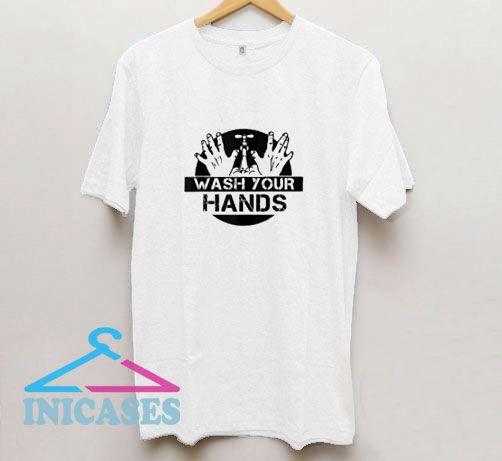 Wash Your Hands Hand Washing Hygiene T Shirt