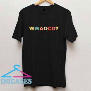 Wwaocd Alexandria T Shirt