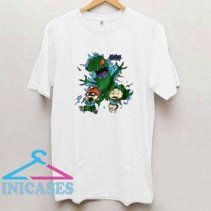 1996 Rugrats Graphic Reptar T Shirt