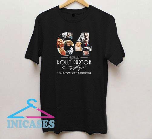 64 Years Anniv Dolly Parton T Shirt