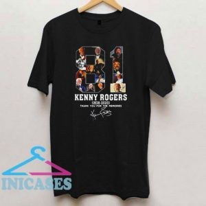 81 Kenny Rogers T Shirt