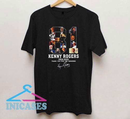 81 Kenny Rogers T Shirt