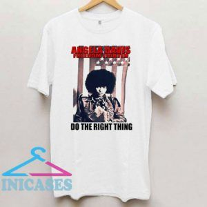 Angela Davis Power To The People T Shirt