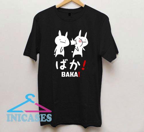 Anime baka rabbit slap japanese T Shirt