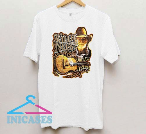 Awesome Willie Nelson Art T Shirt