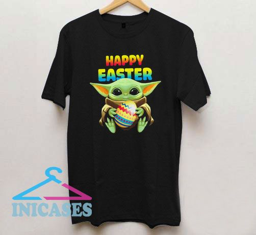 Baby Yoda Happy Easter T Shirt