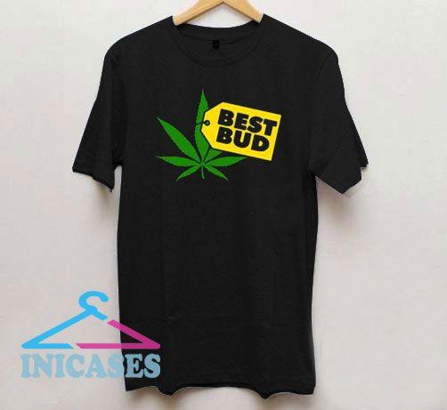 Best Bud Tag Logo T Shirt